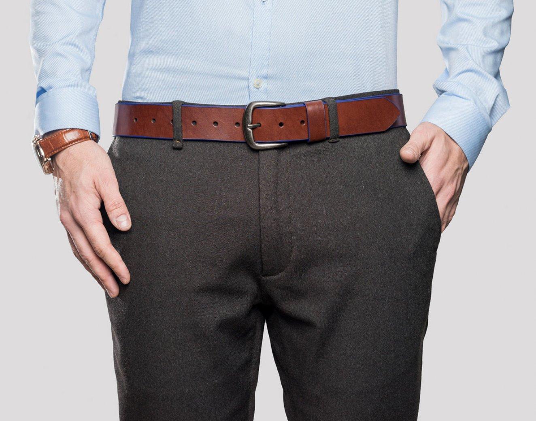 Купить кожаные джинсы мужские
