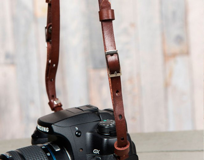 Кожаные ремни для фотоаппарата розовые ремни женские